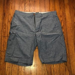 J. Crew Factory Chambray Rivington Shorts